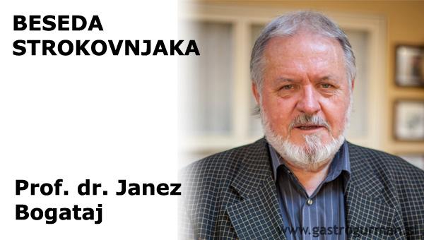 Prof. dr. Janez Bogataj: Sodobna martinovanja v Sloveniji