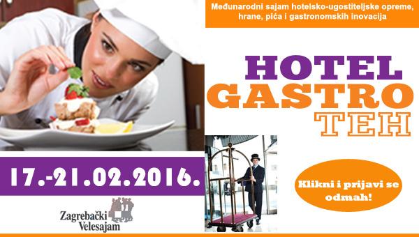 8. mednarodni sejem HOTEL&GASTROTEH v Zagrebu