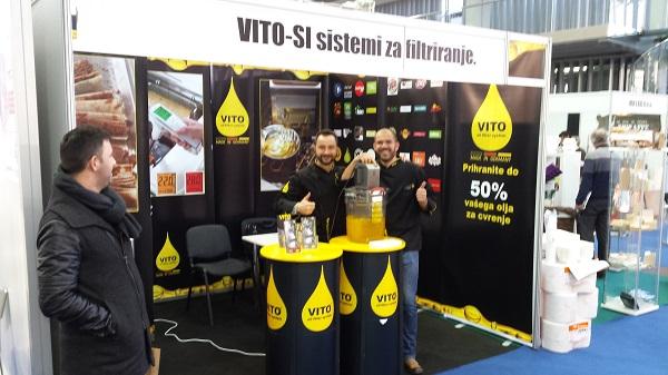 gastrogurman sejem okusov GAST - VITO sistemi za filtriranje