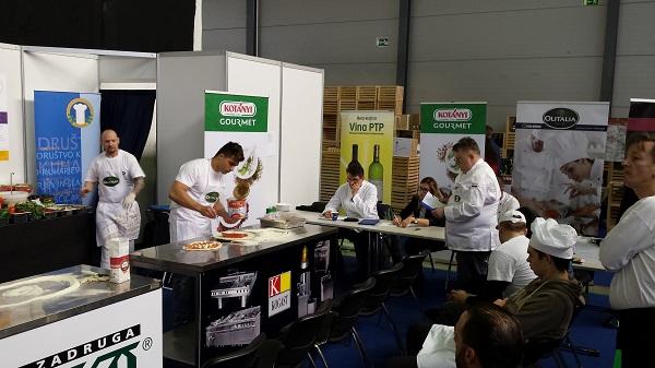 gastrogurman sejem okusov GAST - tekmovanje v izdelavi pizz 2