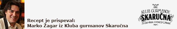 Gastrogurman klub gurmanov skarucna ozka napovednik
