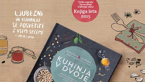 Knjiga za kuhanje v paru – Kuhinja v dvoje
