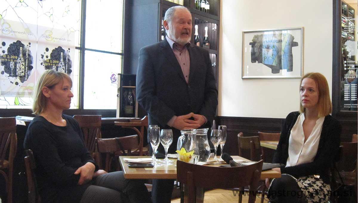 Udeležili smo se novinarske konference 3. Salona penečih vin