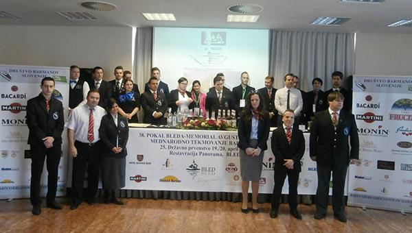Slovenski barmani uspešni na 38. Pokalu Bleda