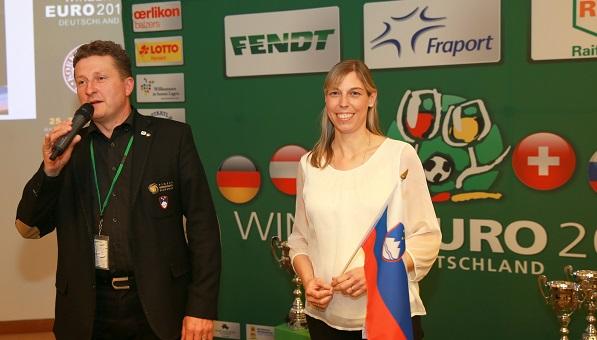 Evropsko prvenstvo vinarjev v nogometu: Slovenci zadovoljni z žrebom
