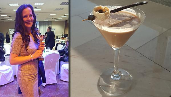 O mladi barmanki Ani Šink ter njenem navdihu za zmagovalni koktejl…