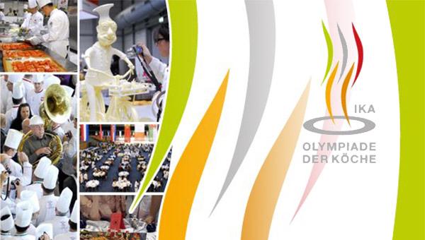 Prvi napovednik kuharske olimpijade v Erfurtu, Nemčija