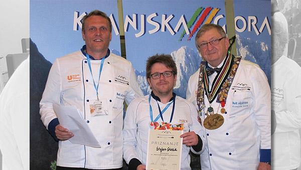 Štefan Sraka je prvi zmagovalec Mednarodnega kulinaričnega festivala v Kranjski Gori