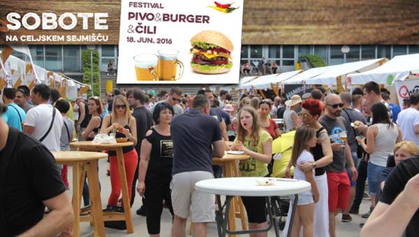Več kot 3000 obiskovalcev na 1. festivalu pivo, burger in čili