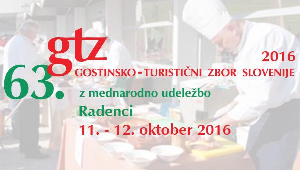 63. Gostinsko turistični zbor Slovenije v Radencih