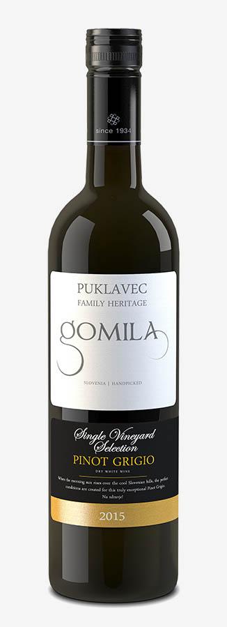 Gastrogurman.si - Vino meseca - Gomila - Pinot Grigio - steklenica vina