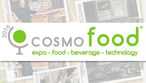 Cosmofood 2016, sejem posvečen hrani, pijači ter profesionalni Ho.Re.Ca opremi