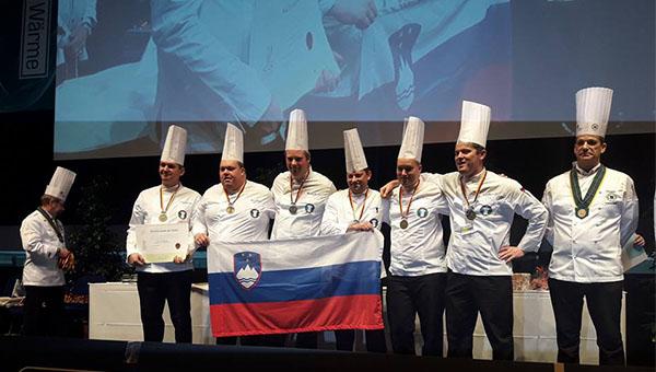 3 x bron za naše olimpijce iz kuharske olimpijade v Erfurtu