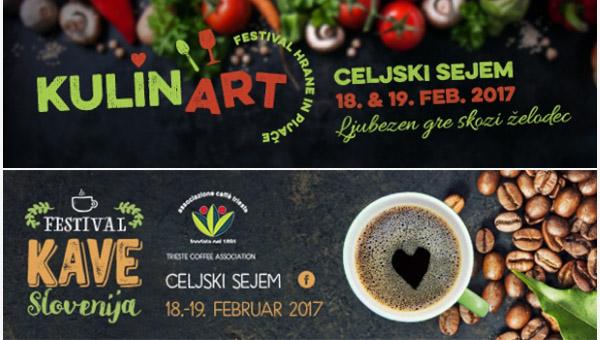 Odlična kava v družbi kulinaričnih dobrot na celjskem sejmišču