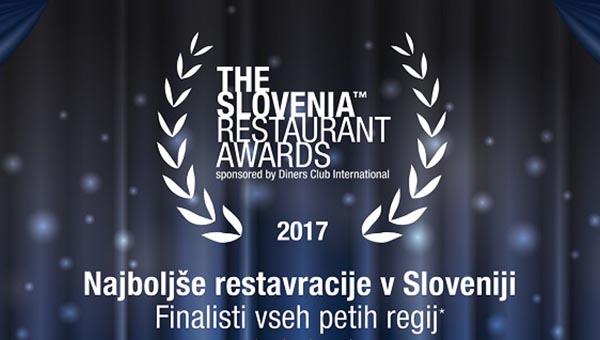 Znani so finalisti izbora The Slovenia Restaurants Awards