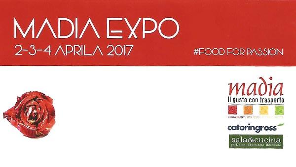 Vabilo na gastronomski dogodek Madia expo 2017