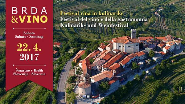 Brda in vino 2017 – festival kulinarike in vina