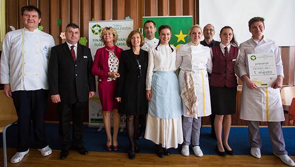 Iz Radencev v finale Tuševe kuharske zvezde ekipi dijakov Maribora in Radencev