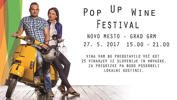 Pop Up wine festival Novo Mesto