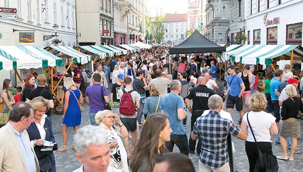 Najokusnejši sprehod po Ljubljani privabil pet tisoč obiskovalcev