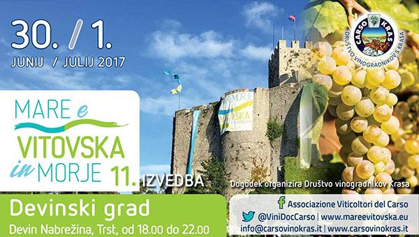 11. Festival Vitovska in Morje na Devinskem gradu