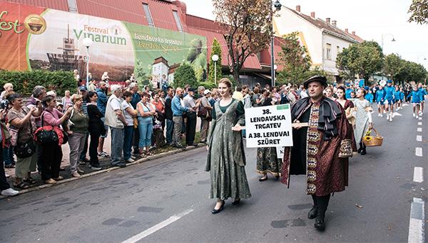 Z 38. Lendavsko trgatvijo zaključili tretji Festival Vinarium