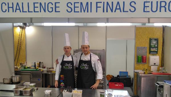 Mlada primorska kuharja suvereno nastopila na mednarodnem tekmovanju Global Chefs Challenge