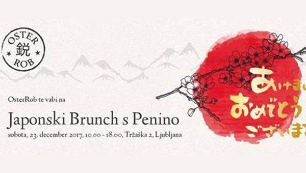 Lepo vabljeni na predbožični Japonski brunch s Penino!