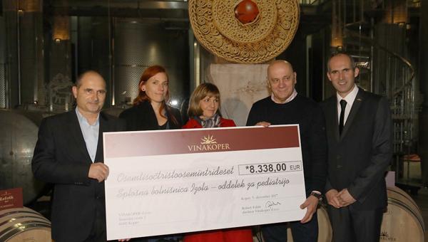 Dobrodelna licitacija barikov v Vinakoper