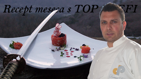 Recept meseca s TOP CHEFI – Daniel Pirc
