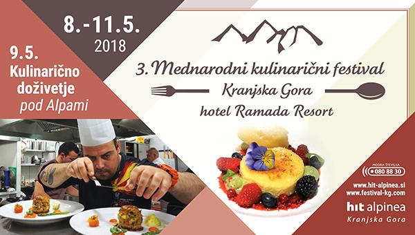 3. Mednarodni kulinarični festival Kranjska Gora