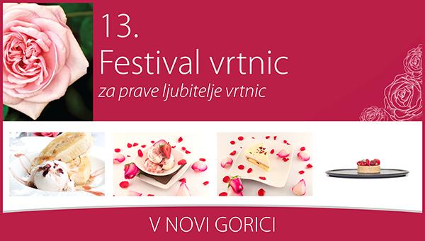 V Novi Gorici se pričenja 13. Festival vrtnic