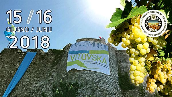 12. IZVEDBE FESTIVALA VITOVSKA IN MORJE DEVINSKI GRAD (Trst) 15. in 16. JUNIJ