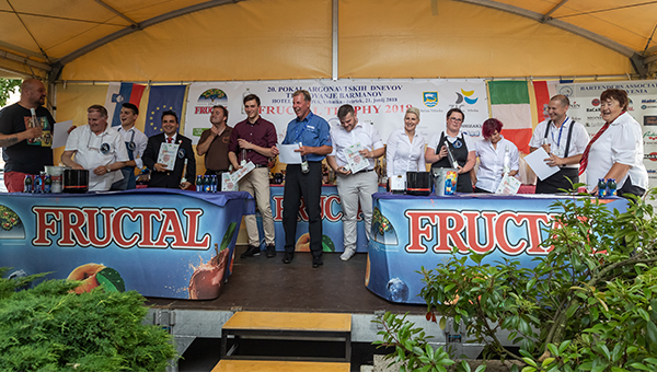 Pokal FRUCTAL GIN TROPHY 2018
