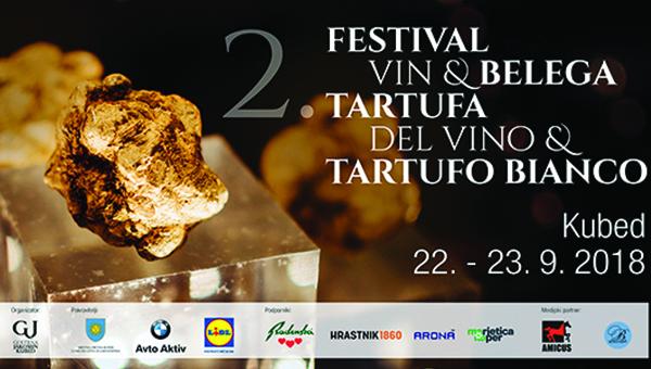 2. Festival vin in belega tartufa