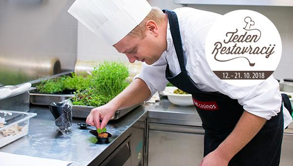 Perlina restavracija Calypso prvič odpira vrata Tednu restavracij