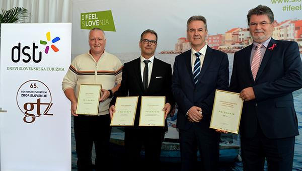 Hitovci s priznanji Turistično gostinske zbornice za kakovost in uspešnost ter priznanji in medaljami na GTZ