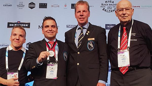 Srebrna medalja za Slovenijo – Svetovno prvenstvo v pripravi koktajlov – kategorija short drink