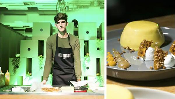 Nov okus Ljubljane je jabolčno-bučna tortica dijaka Bruna Šulmana
