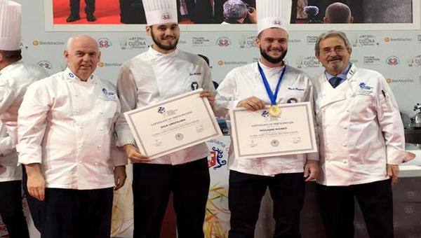 Chef Marko Magajne iz Galerije okusov zmagal  na prestižnem tekmovanju Global Chefs Challenge