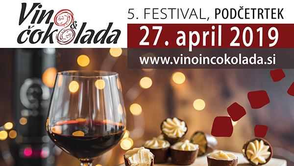 FESTIVAL VINA IN ČOKOLADE 2019
