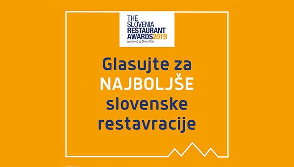 """PREVERITE KATERE SLOVENSKE RESTAVRACIJE SO V IZBORU """"THE SLOVENIA RESTAURANT AWARDS by Diners Club 2019"""