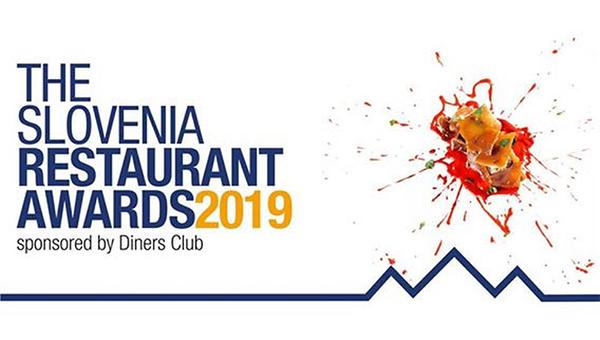 UVRŠČENE RESTAVRACIJE V OŽJI IZBOR GLASOVANJA THE SLOVENIA RESTAURANT AWARDS 2019 by Diners Club