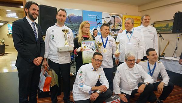 Syu Poropat je zmagovalka 4. Mednarodnega kulinaričnega festivala Kranjska Gora