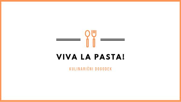Edinstven kulinarični dogodek – Viva la pasta! kmalu v Kopru
