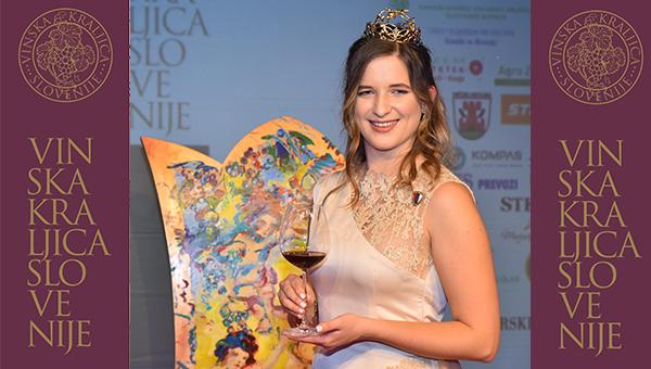Okronana je 24. Vinska kraljica Slovenije