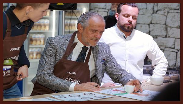 Na sejme Okusov 2020 prihaja Luigi Lupi, oče Latte Art umetnosti