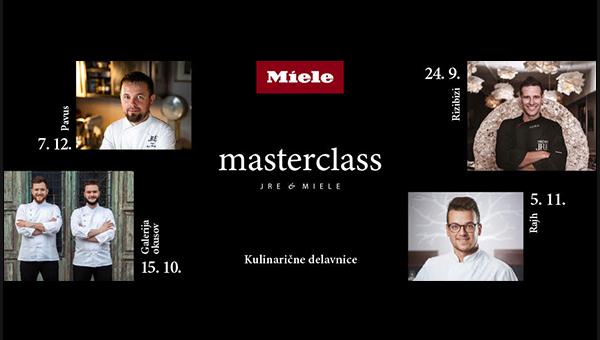 JRE & Miele masterclass