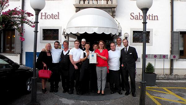 Hotel Sabotin, prvi hotel v Mestni občini Nova Gorica z Zelenim ključem