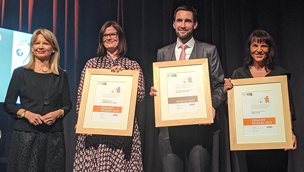 Družbi Hit Alpinea priznanje Sejalec za leto 2019